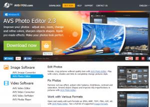 AVS Photo Editor Download