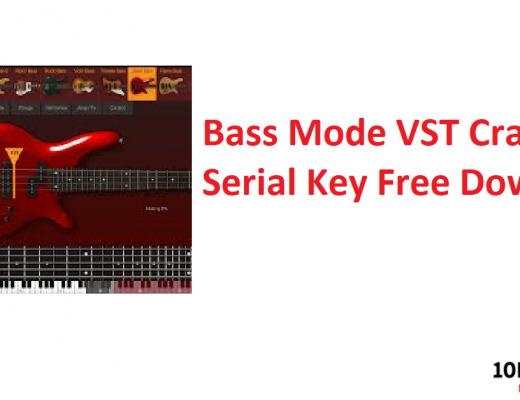 Bass Mode VST Crack + Serial Key Free Download